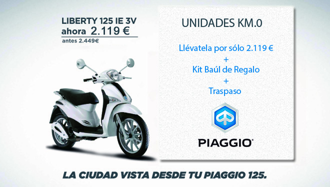 tif n motor oportunidad piaggio liberty km 0 regalo baul. Black Bedroom Furniture Sets. Home Design Ideas